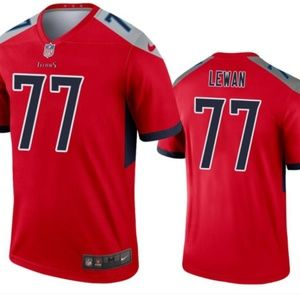 Tennessee Titans 77 Taylor Lewan Limited Jersey